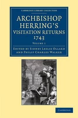 Archbshp Herring's Vist Rt 1743 v1