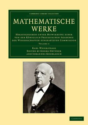Mathematische Werke vol 4