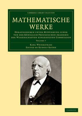 Mathematische Werke vol 7