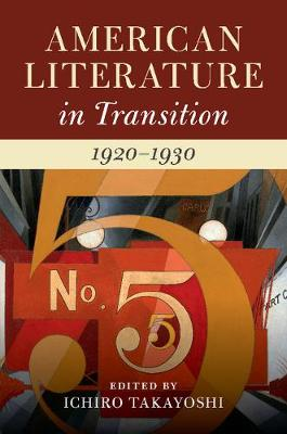 American Literature in Transition, 1920-1930