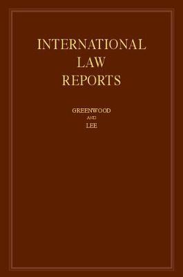 International Law Reports Vol 171