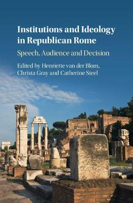 Institutions Ideology Republic Rome