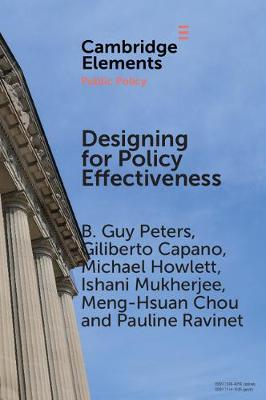 Designing for Policy Effectiveness: Defining and Understanding a Concept