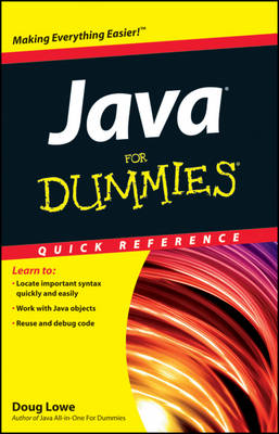 Java For Dummies Quick Reference