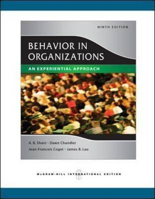 Organisational Behaviour Core Concepts 3E E-text +Istudy Version 1