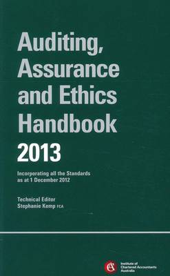 Chartered Accountants Auditing & Assurance Handbook + Wiley E-Text: Incorporating All the Standards as at 1 December 2012: 2013