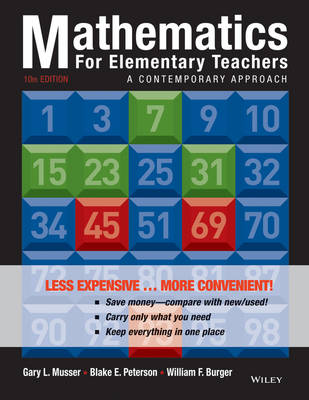 Mathematics for Elementary Teachers: A Contemporary Approach
