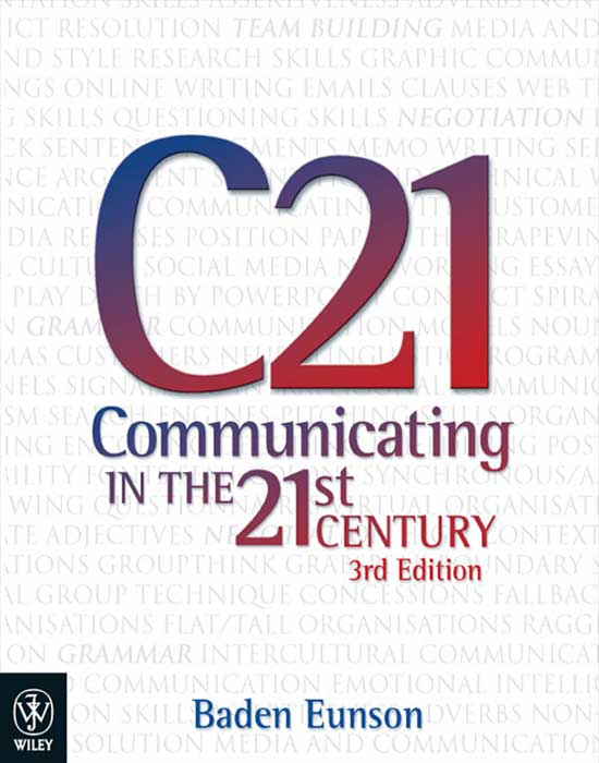 Communicating in the 21st Century, 3rd Edition