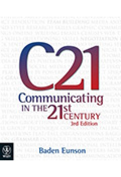 Communicating in 21st Century 3E E-text + Istudy Version 1 + Communication Skills Handbook 3E