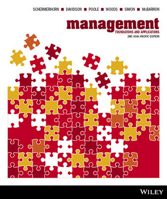 Management Foundations and Applications 2E Asia Pacific and istudy Version 2 Registration Card (with new copies only)