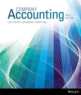 Company Accounting 10e