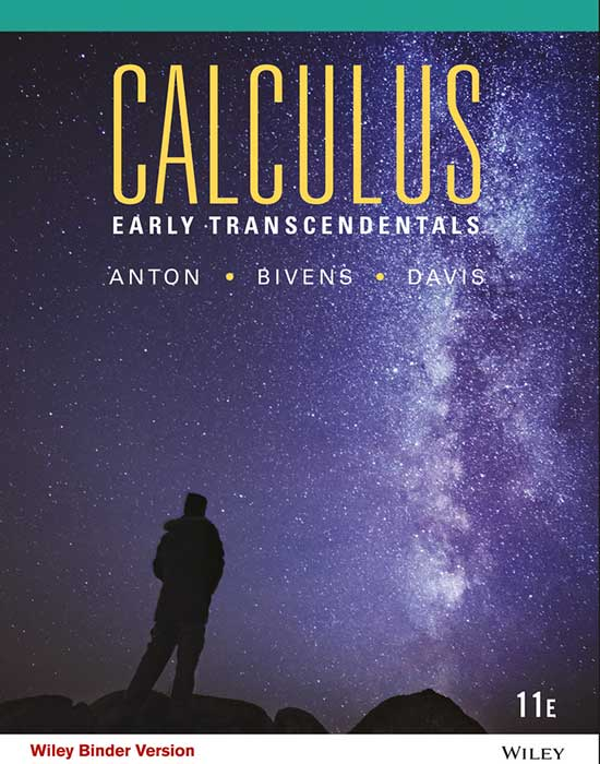 Calculus Early Transcendentals, 11th Edition