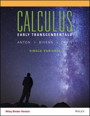 Calculus Early Transcendentals Single Variable, Binder Ready Version