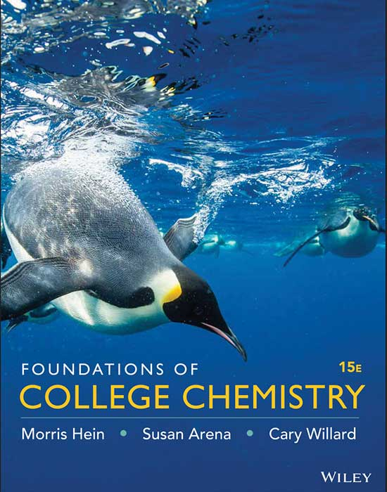 Foundations of College Chemistry, 15th Edition