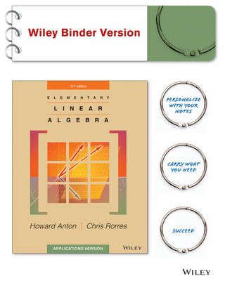 Elementary Linear Algebra : Applications Version BRV + WileyPlus