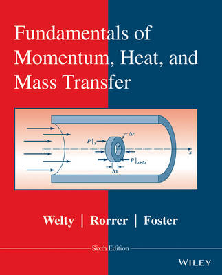 Fundamentals of Momentum, Heat, and Mass Transfer, Revised 6E