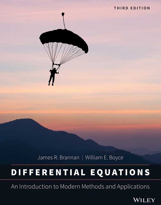 Differential Equations: An Introduction to Modern Methods and Applications, 3rd Edition