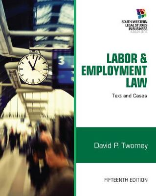 Labor & Employment Law 15 Edition