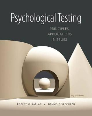 Psychological Testing: Principles, Applications, and Issues