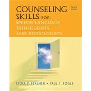 Counseling Skills for Speech-L anguage Pathologists and Audio logis ts - CengageBr