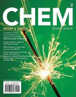 CHEM2 : Chemistry in Your World (with OWLv2 24-Months Printed Access Card)