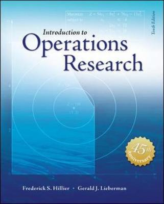 Introduction to Operations Research 10th Edition with Student Access Card