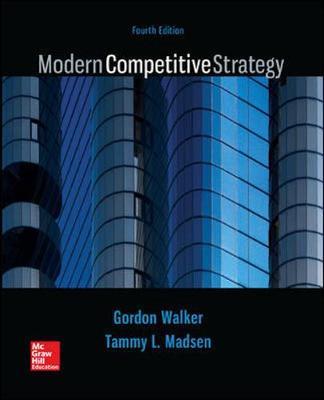 Mod Comptve Strategy