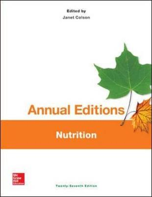 Annual Editions: Nutrition, 27/e
