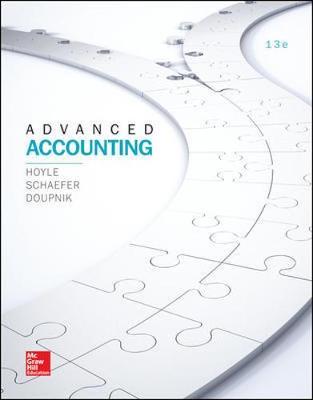 Advanced Accounting 13E (Bound)