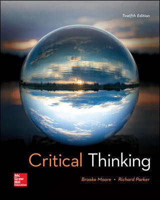Critical Thinking 12E (Bound)