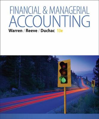 Financial & Managerial Accounting: Financial & Managerial Accounting Student's Book