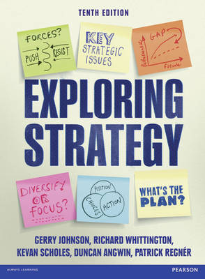 Exploring Strategy (Text Only), plus MyStrategyLab with Pearson eText