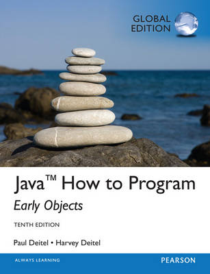 Java How To Program - Early Objects, Global Edition