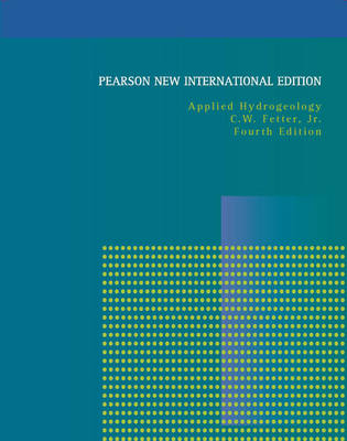 Applied Hydrogeology: Pearson New International Edition