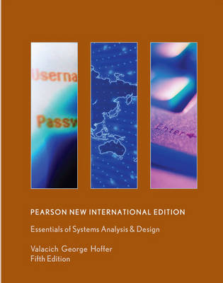 Essentials of Systems Analysis and Design 5E International Edition