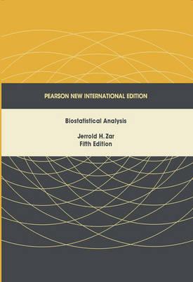 Biostatistical Analysis, Pearson New International Edition