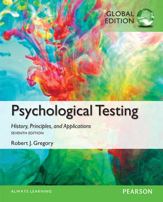 Psychological Testing: History, Principles, and Applications, Global Edition