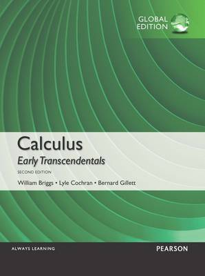Calculus: Early Transcendentals, Global Edition