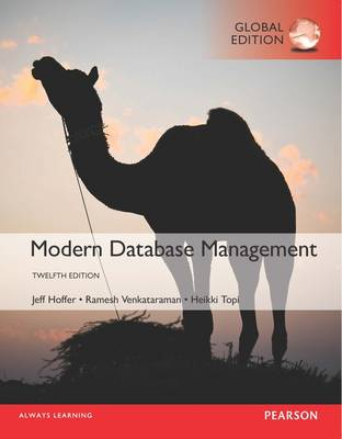 Modern Database Management Global Edition 12th Edition