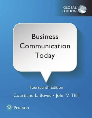 Business Communication Today: Global Edition