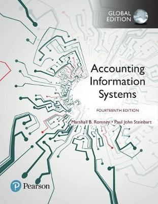 Accounting Information Systems, Global Edition 14e