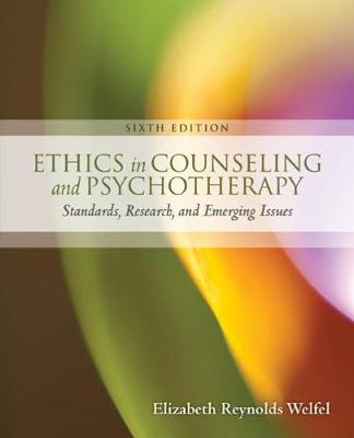 Ethics In Counseling and Psychotherapy