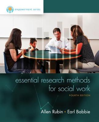 Empowerment Series: Essential Research Methods for Social Work