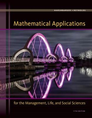 Mathematical Applications for the Management, Life, and Social Sciences: Pre-Birth Through Adolescence