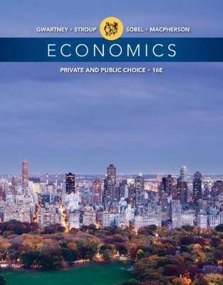 Economics : Private and Public Choice