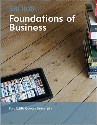 SBL1100 Foundations Of Business 1e (Customised)