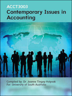 CUST Contemporary Issues in Accounting