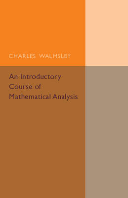 An Introductory Course of Mathematical Analysis