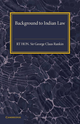 Background to Indian Law