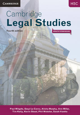 Cambridge HSC Legal Studies 4th Edition Pack (Textbook, Interactive Textbook and Toolkit)